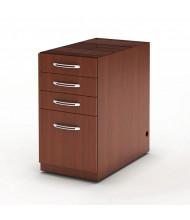 Mayline Aberdeen APBBF26 4-Drawer Pencil/Box/Box/File Suspended Desk Pedestal Cabinet (Shown in Cherry)