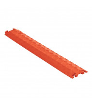 Checkers 1-Channel Fastlane Drop Over Cable Protector (Shown in Orange)