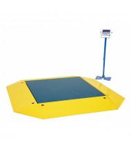 Vestil SCALE-LP 4' W x 4' L Low Profile Ramp Floor Scales 5000 to 20,000 lbs. Capacity