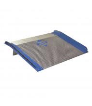 Bluff BC 15,000 lb Load Steel Curb Aluminum Dock Boards