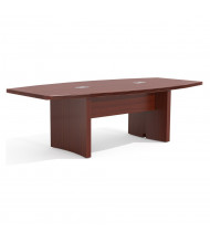Mayline Aberdeen ACTB8 8 ft Boat-Shaped Conference Table (Shown in Cherry)