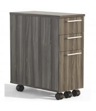 Mayline Medina 3-Drawer Box/Box/File Mobile Pedestal Cabinet (Shown in Grey)