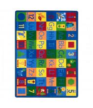 Joy Carpets Around the Block II Rectangle Classroom Rug