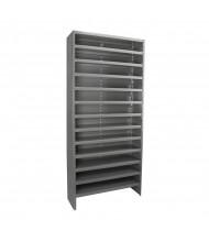"Akro-Mils 13-Shelf 18"" D Closed-Back Storage Shelving Unit"