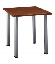 "Bush Aspen 28.5"" W Square Training Table (Shown in Hansen Cherry)"