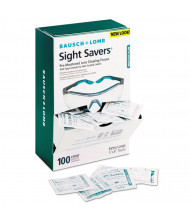 Bausch & Lomb Sight Savers Pre-Moistened Anti-Fog Tissues with Silicone, 100/Pack