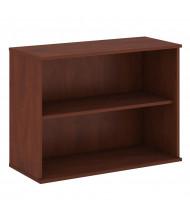 """Bush 30"""" H 2-Shelf Bookcase (Shown in Hansen Cherry)"""