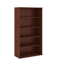 """Bush 72"""" H 5-Shelf Bookcase (Shown in Hansen Cherry)"""