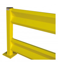 Bluff Steel Tube Posts for Tuff Guard Safety Rails (Shown with Optional Rails, Available Separately)