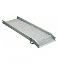 Bluff 1000 to 3000 lb Load Apron Aluminum Walk Ramps