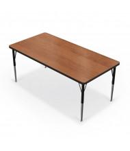 "Balt 60"" x 30"" Rectangle Classroom Activity Table (Amber Cherry)"