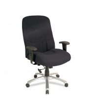 Eurotech Excelsior BM9000 Big & Tall 350 lb. Fabric High-Back Executive Office Chair (Shown in Black)