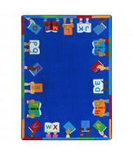 Joy Carpets Books Are Handy Rectangle Classroom Rug