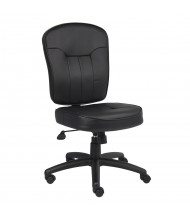 Boss B1560 LeatherPlus Mid-Back Task Chair