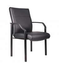 Boss B689 LeatherPlus Mid-Back Guest Chair