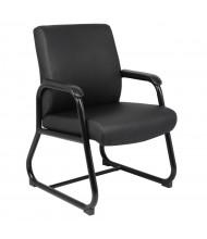 Boss B709 Big & Tall 300 lb. Heavy-Duty CaressoftPlus Mid-Back Guest Chair