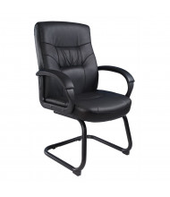 Boss B7519 LeatherPlus Mid-Back Guest Chair