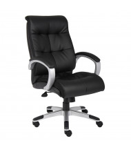 Boss B8771 Double Plush LeatherPlus High-Back Executive Office Chair (Shown in Black)