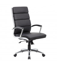 Boss B9471 CaressoftPlus High-Back Executive Office Chair (Shown in Black)