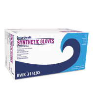 Boardwalk Powder-Free Synthetic Vinyl Gloves, Large, Cream, 4 mil, 1,000/Pack