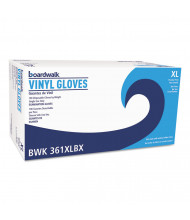 Boardwalk Exam Vinyl Gloves, Clear, X-Large, 3.6 mil, 1,000/Pack