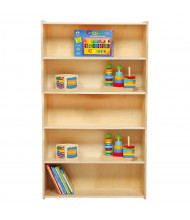 "Wood Designs Contender 60"" H Bookshelf (Example of Use)"