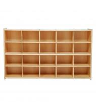 Wood Designs Contender 20 Tray Storage Unit