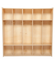 Wood Designs Contender 5 Section Locker