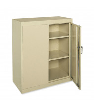 """Sandusky 36"""" W x 18"""" D x 42"""" H SnapIt Counter Height Storage Cabinet (Shown in Putty)"""