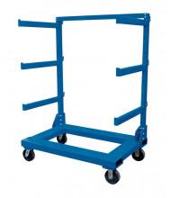Vestil Portable Cantilever Steel Cart 2000 lb Load