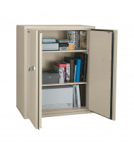 FireKing CF4436-D Fireproof Storage Cabinet - Shown in Parchment