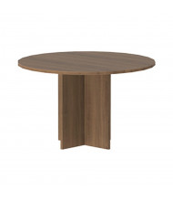 """Cherryman Amber 47"""" Round Conference Table (Shown in Walnut)"""
