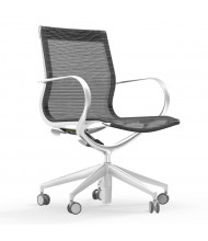 Cherryman idesk Curva Mesh Mid-Back Executive Office Chair