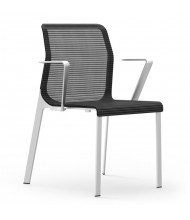 Cherryman idesk Curvinna Mesh Low-Back Guest Chair, Pack of 2