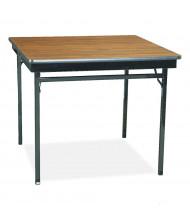 Barricks Square Laminate Folding Table