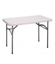 "Correll 60"" W x 30"" D x 29"" H Economy Rectangular Folding Table"