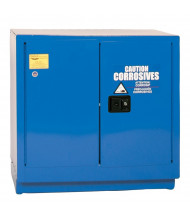 Eagle CRA-70 Self Close Two Door Corrosives Acids Safety Cabinet, 22 Gallons, Blue
