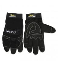 Memphis Cheetah 935CH Gloves, Medium, Black