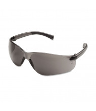 Crews BearKat Safety Glasses, Wraparound, Gray Lens, 12 Pack