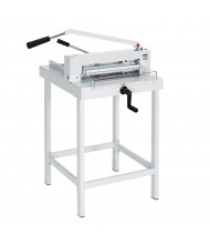MBM Triumph Stand for 4305, 4315, 4350 Paper Cutters (Shown with separate paper cutter)
