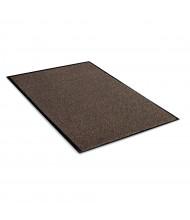 Crown Rely-On 3' x 10' Vinyl Back Polypropylene Indoor Wiper Floor Mat, Walnut