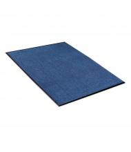 Crown Rely-On 3' x 5' Vinyl Back Polypropylene Indoor Wiper Floor Mat, Marlin Blue