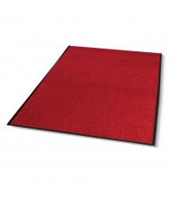 Crown Rely-On 4' x 6' Vinyl Back Polypropylene Indoor Wiper Floor Mat, Castellan Red