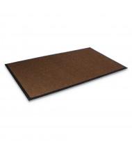 """Crown Super-Soaker 34"""" x 119"""" Rubber Back Polypropylene Indoor Wiper Floor Mat, Dark Brown"""