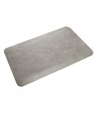 Crown Workers-Delight 2' x 3' Vinyl Back Standard Anti-Fatigue Floor Mat, Dark Gray