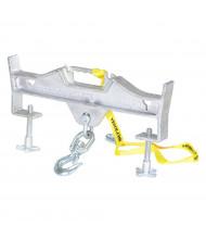 Vestil 4000 to 10,000 lb Hoisting Hook Forklift Attachments (D-Fork-4-SL Model Shown)