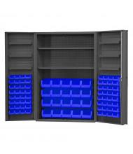 Durham Steel Box Door Bin Storage Cabinets, Hook-On Bins