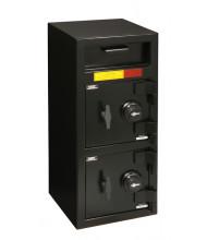 AmSec DSF3214C 2-Door Front Drop Burglary Rated Depository Safe