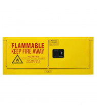 "Durham Steel 1012MH-50 19"" W x 44"" D x 19"" H Horizontal Two Door Flammable Safety Cabinet, 12 Gallon"