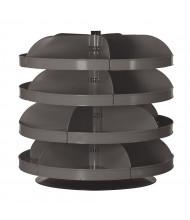 "Durham Steel Rotabin Revolving Bin Shelving Units (4 Shelf 34"" Model Shown)"